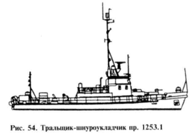 Тральщик-шнуроукладчик пр. 1253.1