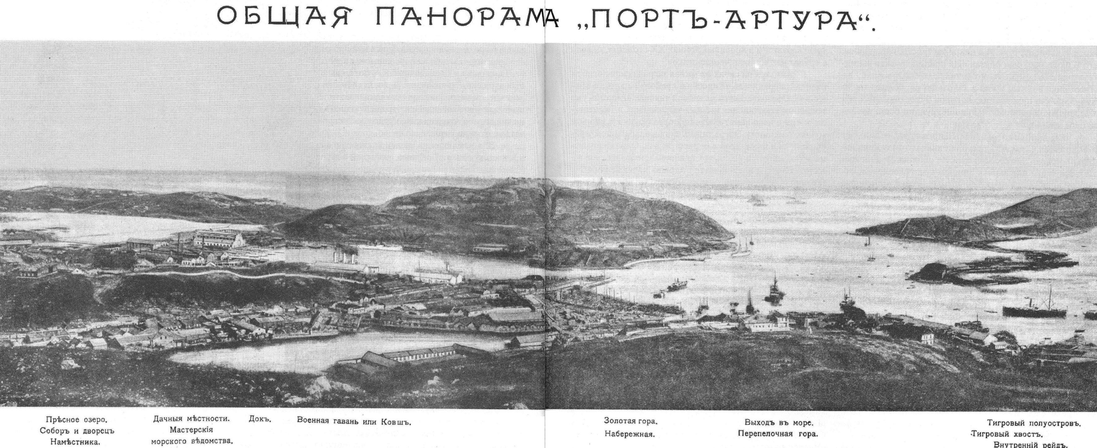 Панорама Порт-Артура