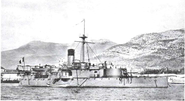 Французский броненосец береговой обороны «Ашерон»