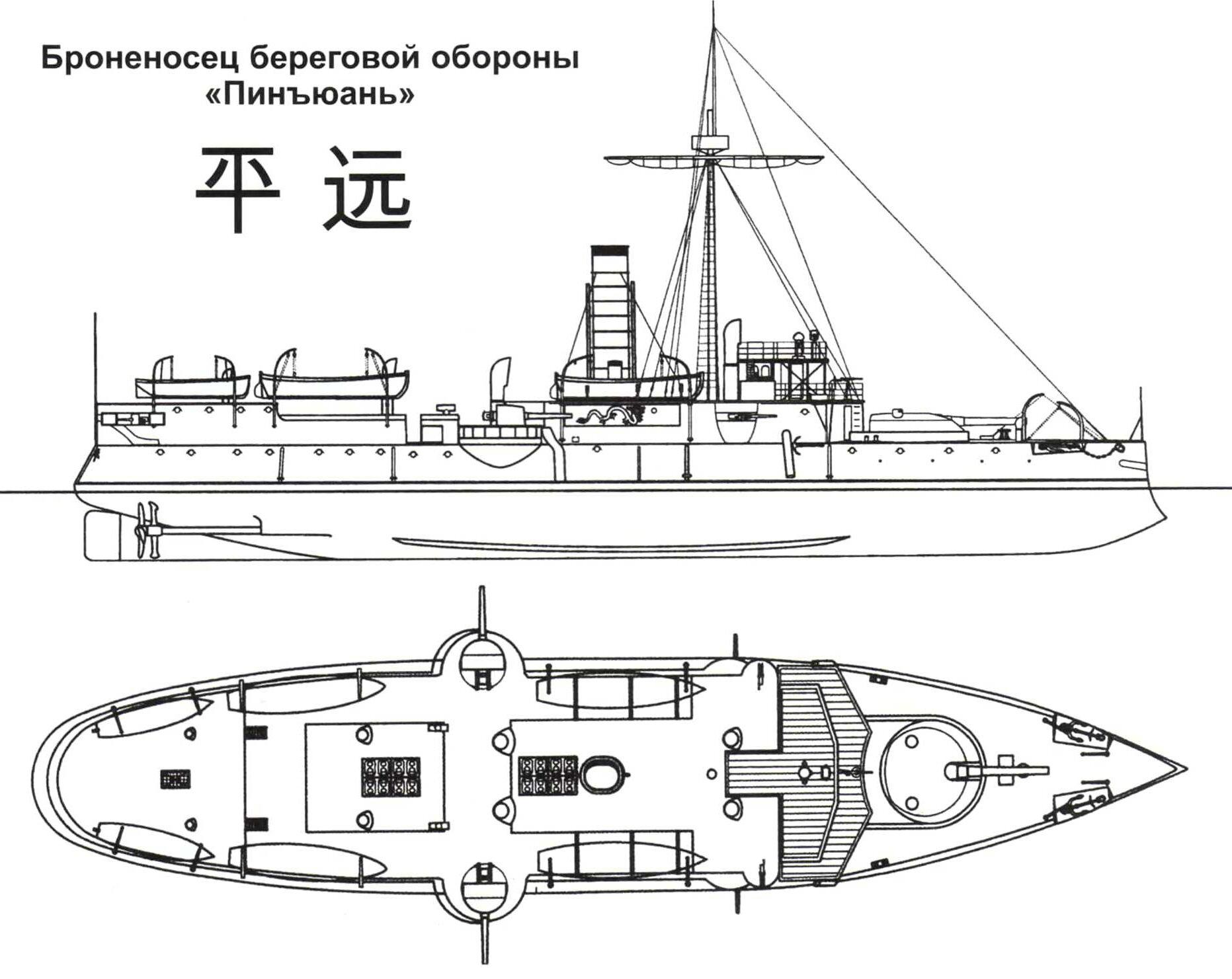 Броненосец береговой обороны «Пинъюань»